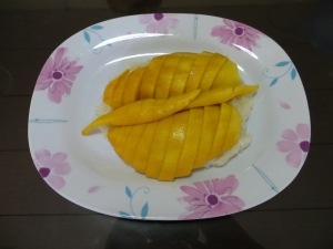 mango with sticky rice, anyone?